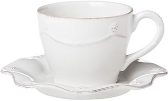 Juliska Berry & Thread White Tea/Coffee Cup