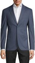 Calvin Klein Slim-Fit Textured Suit Jacket