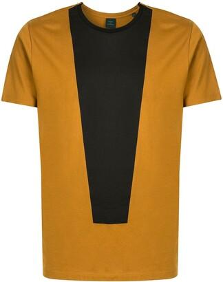 Kent & Curwen colour-block short-sleeved T-shirt