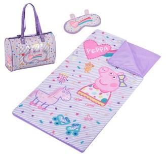 Peppa Pig Sleepover Purse, Slumber Bag And Eye Mask Set