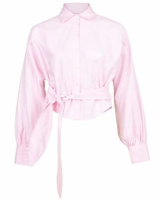 Marissa Webb Pink Emmerson Oxford Shirt