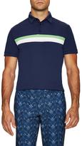 J. Lindeberg Noah TX Slim Fit Jersey Polo