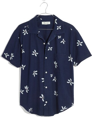 Madewell Floral Easy Button-Up Camp Shirt
