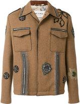 Etro appliqué detail jacket