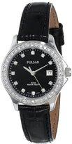 Pulsar Women's PH7229 Analog Display Japanese Quartz Black Watch