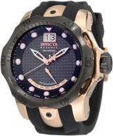 Invicta Men's Retrograde INV-1594 Silicone Swiss Quartz Watch with Dial