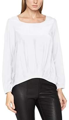 Seidensticker Women's 223544 Loose Fit Crew Neck Long Sleeve Blouse - Off-White - 12
