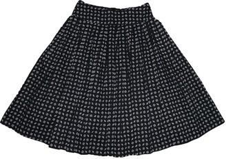 agnès b. Black Cotton Skirt for Women