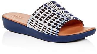 FitFlop Women's Sola Platform Slide Sandals