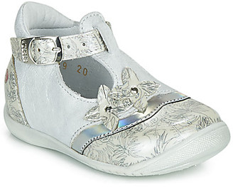 GBB SELVINA girls's Shoes (Pumps / Ballerinas) in Silver
