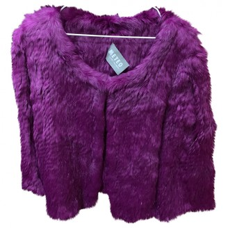 Meteo Purple Rabbit Jacket for Women