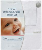 Bubba Blue Everyday Basic Bassinet Sheet Set