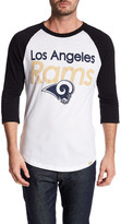 Junk Food Clothing Los Angeles Rams Baseball Tee