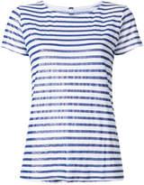 Majestic Filatures striped crew neck T-shirt
