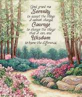 Dimensions Needlecrafts Counted Cross Stitch, Serenity, Courage, and Wisdom