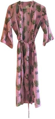 VERDELIMON Pink Cotton Swimwear for Women