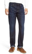 Mavi Jeans Myles Straight Fit Jean (Rinse Brushed Williamsburg)