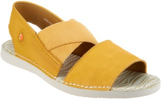 Fly London Cross-band Sandals - Tin