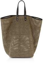 Creatures of Comfort Tall Raffia Market Bag