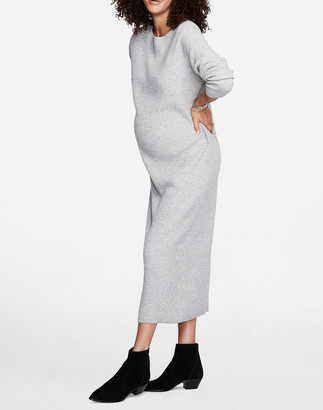 Madewell HATCH Collection The Cozy Waffle Dress
