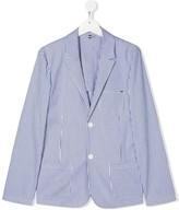 Emporio Armani Kids TEEN stripe print blazer
