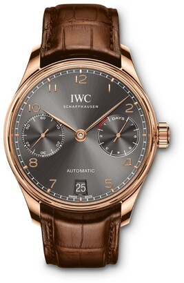IWC SCHAFFHAUSEN Rose Gold Portugieser Automatic Watch 42.33mm