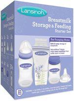 Lansinoh Breastmilk Storage and Feeding Starter Set