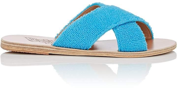 Ancient Greek Sandals Women's Thais Terry Slide Sandals