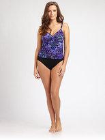 Miraclesuit Swim, Salon Z Purple Haze Tankini