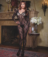 Dreamgirl Lace Bodystocking Plus Size Lingerie - Women's