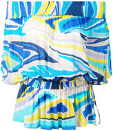 Emilio Pucci off the shoulder printed top