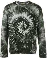 Valentino 'Tie&Dye' print sweatshirt