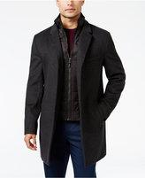 MICHAEL Michael Kors Men's Water-Resistant Overcoat with Zip-Out Liner
