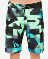 Volcom Men's Costa Paste Up Abstract-Print 21and#034; Board Shorts