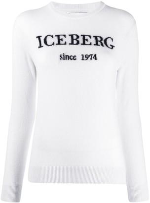 Iceberg Logo Intarsia Jumper