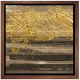 PTM Images Gold Drips II (Framed Giclee)