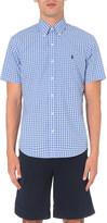 Polo Ralph Lauren Regular-fit checked short-sleeved shirt