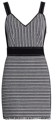 Derek Lam 10 Crosby Cami Striped Mini Dress