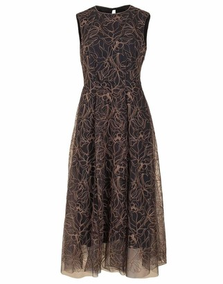Brunello Cucinelli Embroidered Tulle Dress