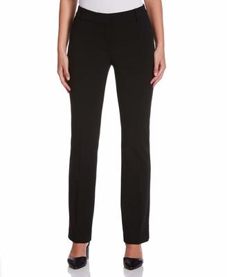 Rafaella Women's Soft Stretch Crepe Modern Fit Pant