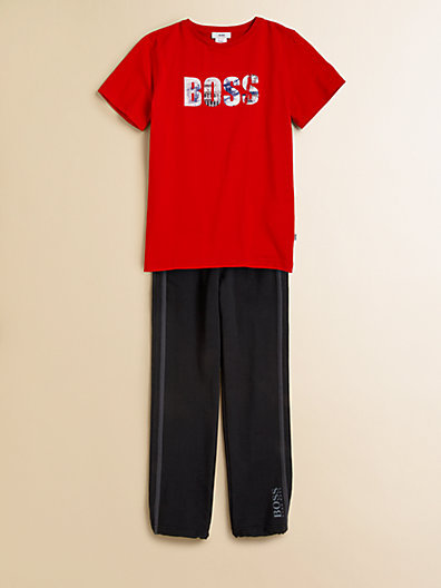 HUGO BOSS Boy's Logo Tee