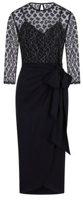 Dorothy Perkins Womens **Little Mistress Black Lace Midi Dress, Black