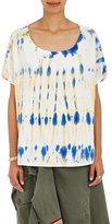 Faith Connexion Women's Tie-Dye Cotton T-Shirt-BLUE