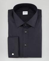 Armani Collezioni Twill Dress Shirt