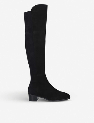 Stuart Weitzman Tia suede over-the-knee boots