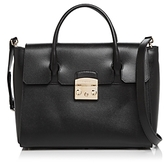 Furla Metropolis Medium Leather Satchel