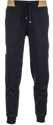 Brunello Cucinelli Lightweight Techno Cotton French Terry Trousers With Elasticated Cuffs And Nylon Inserts