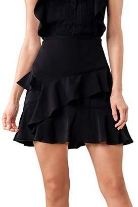 Sugar Lips Sugarlips Women's Skyla Layered Ruffle Mini Skirt