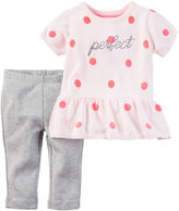 Carter's Girls 2-pc.Top andPant Set-Baby