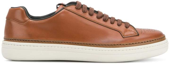 Church's perforated toe sneakers
